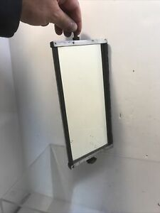 Vintage Chrome Truck Side View Mirror 10 Tall X 5 Wide