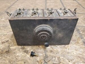 1912 1913 Ford Model T Heinz Coil Box With All Original Coils Switch