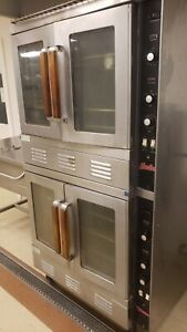 Vulcan Snorkel Natural Gas Double Stack Convection Oven Sg22