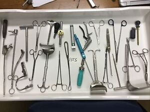 Lot Of Mixed Surgical Medical Tools Instruments