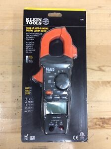 Klein Tools Cl220 400a Ac Auto ranging Digital Clamp Meter new