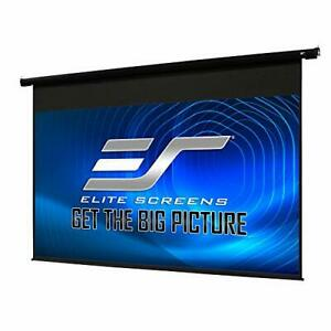 Elite Screens 84 Spectrum Electric Motorized Projector Screen With Multi Asp