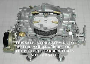 1963 64 Your Supercharged Studebaker Carter Afb 3507s 3588s 3725s Carb Restored