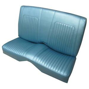 Pui Interiors 68ds17c Deluxe Rear Seat Cover 1968 Camaro Blue