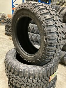 4 New Tires 305 55 20 Maxxis Bighorn Mt 762 Mud 10 Ply Bsw Lt305 55r20