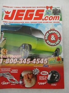 Jegs High Performance Auto Parts November December 2014 Catalog Car Accessories