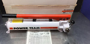 Spx Power Team P157d P159d Hydraulic Pump Double Act 2 speed 10 000 Psi 4 way