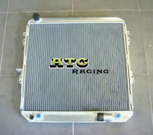 2 Row Aluminum Radiator For Toyota Surf Hilux 2 4 2 0 Ln130 Diesel At Mt