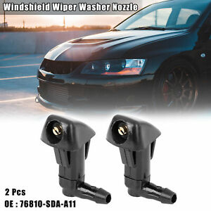 2pcs 76810 sda a11 Car Windshield Wiper Washer Nozzle For Honda Odyssey Accord
