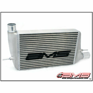 Ams Front Mount Intercooler Kit With Stencil For 2008 2015 Mitsubishi Evo X 10