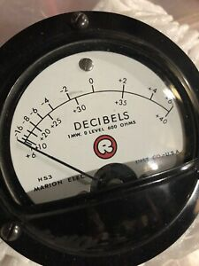 Db Meter Marion Electric Co 6 40db Scale