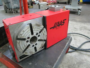 Haas Hrt 210 Brush Type 4th Axis Rotary Table For Sale