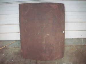 1928 1931 Ford Model A Trunk Lid Skin Coupe Roadster Cabriolet 28 29 30 31