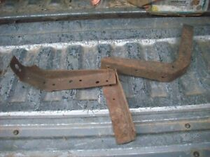 1928 1929 Ford Model A Pickup Door Post Braces Truck Aa 28 29