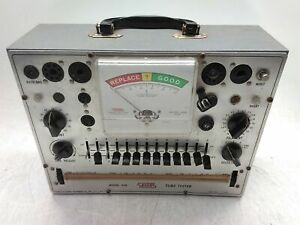 Eico Model 628 Vintage Tube Tester Untested As is For Parts