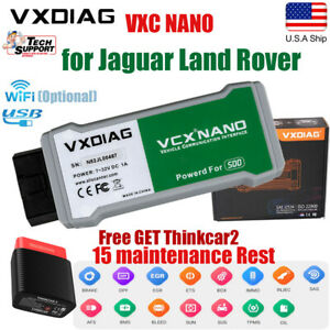 For Jaguar Land Rover Code Reader Sdd Software Free Get Thinkcar Obd2 Scanner Us