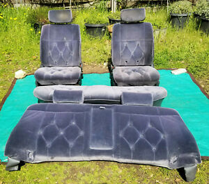 Oem 1985 Toyota Cressida Tufted Front Rear Seat Set Shipping Available