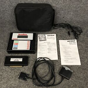 Actron Scan Tool Cp9110 With 1984 1995 Ford Systems Cp9112 Cartridge In Euc