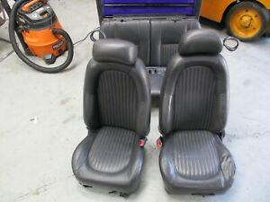 2001 Ford Mustang Bullitt Coupe Seats 049