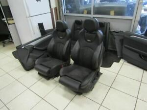 13 15 Cadilac Cts v Coupe Recaro Suede Interior Seats Panels
