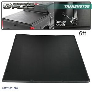 Tri fold Soft Tonneau Cover For 2005 2015 Toyota Tacoma Pickup Truck 6ft Bed