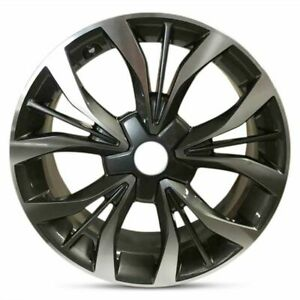 Set Of 2 18 Inch Aluminum Wheel Rims For 06 17 Jeep Compass 18x7 5 5 Lug 114 3mm