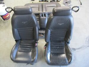 1996 04 Ford Mustang Gt Leather Coupe Seats 040