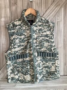 Ranger Vest With Hood Military Tactical ACU Digital Camouflage Rothco 7255 $30.00