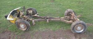 Triumph Spitfire Mk Iv Chassis Frame Front Rear Suspension Wheels
