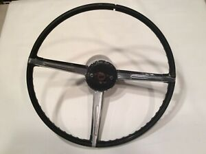 1965 1966 Cadillac Telescoping Tilt Steering Wheel Oem Vintage Original