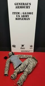 1 6 US ARMY ACU HELMET NIGHT VISION AND UNIFORM LOT FROM GENERAL#x27;S ARMOURY $46.99