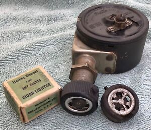 Antique Presto Rewinding Old Ford Model A T Chevy Vintage Car Cigarette Lighter