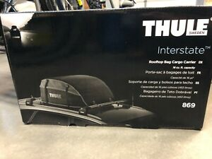 Thule Interstate 869 Rooftop Cargo Carrier Bag Brand New In Box 16 Cu Feet
