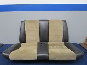 2003 04 Ford Mustang Svt Cobra Convertible Parchment Rear Seat 039