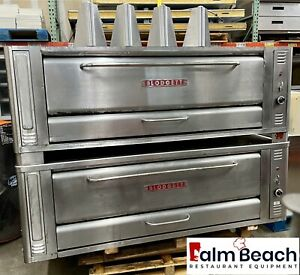 Blodgett 1060 Double Deck Pizza Oven New Parts And New Stones