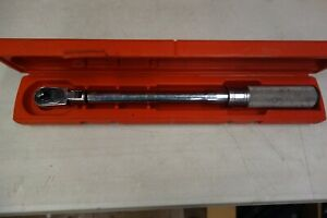 Snap on Qd2fr75 Torque Wrench 3 8 Drive W Case
