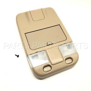 96 04 Nissan Pathfinder Map Lights Overhead Console Storage Oem Tan 96912 ow610