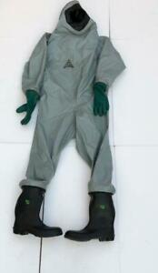 Auer 3020 705 Chemical Protective Protection Complete Suit