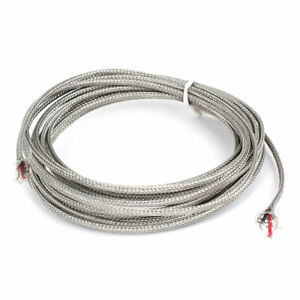 4 Meter Silver Tone Metal K Type Thermocouple Extension Wire