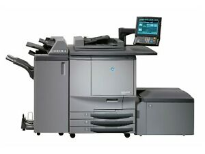 Konica Minolta C6501 Printing Press With Lct And Finisher