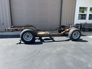 1963 1979 Corvette Complete Front Rear Frame Chassis Chevy