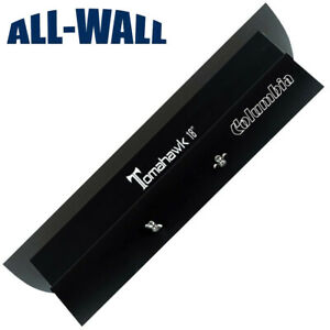 Columbia 18 Tomahawk Stainless Drywall Smoothing Blade Wipedown Finish Knife