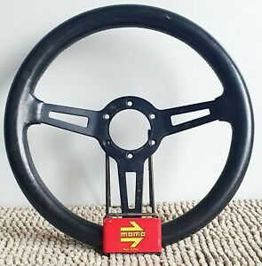 Momo Gt Steering Wheel 70s Rare Very Small 315 Mm Made In Italy Bmw Porsche Fiat