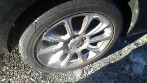 Rim Wheel 17x7 1 2 Alloy 5 Double Spoke Silver Finish Fits 13 16 Dart 1741437