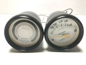 Auto Meter 5775 Phantom Air fuel Ratio Gauge 5791 Phantom Voltmeter 2 Gauges 52m