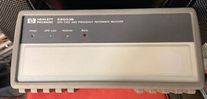 Hewlett Packard Symmetricom 58503b Gps Time Frequency Reference tested