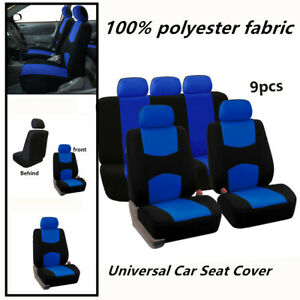 Low Back Flat Cloth Full Set For Car Seat Covers Fits All Kind Car Seats
