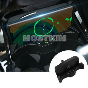 Wireless Car Charger Phone Fast Charging Plug And Play For Bmw X1 F48 2016 2019