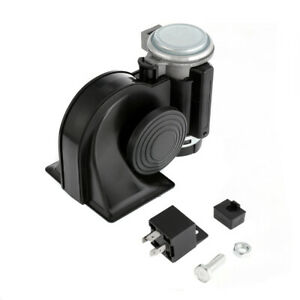12v 150db Loud Electronic Air Horn With Automotive Relay For Big Truck Lorry Car