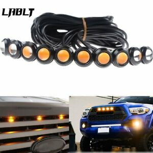 10pcs Amber Front Grille Marker Led Light Lamps For Ford F 150 F 250 Escape